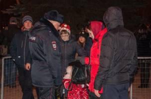 Смоленские полицейские: всё спокойно, гуляем дальше