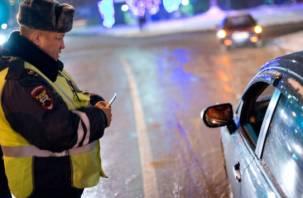 По Смоленщине разъезжали более двух десятков пьяных водителей