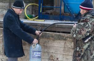 Около двух тысяч смолян остались без холодной воды