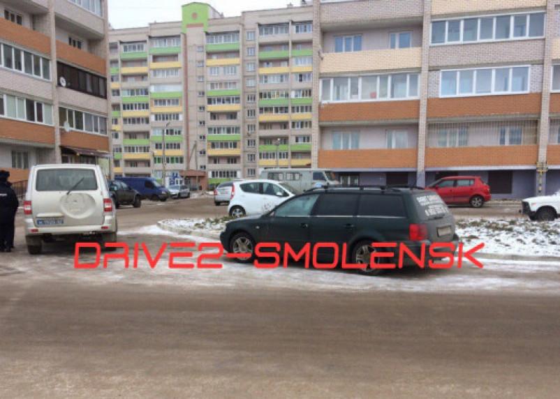В Смоленске неизвестные украли с машин зеркала