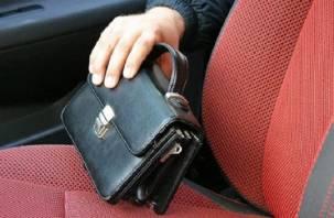 Смолянин оставил окно машины открытым и лишился 250 тыс. рублей