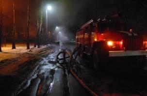 Из пожара в Смоленской области спасены десятки человек. Один — госпитализирован
