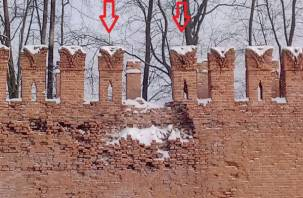 Смоленская крепость лишится еще двух зубцов