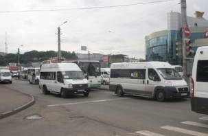 В Смоленске водитель маршрутки довел до дома потерявшегося ребенка