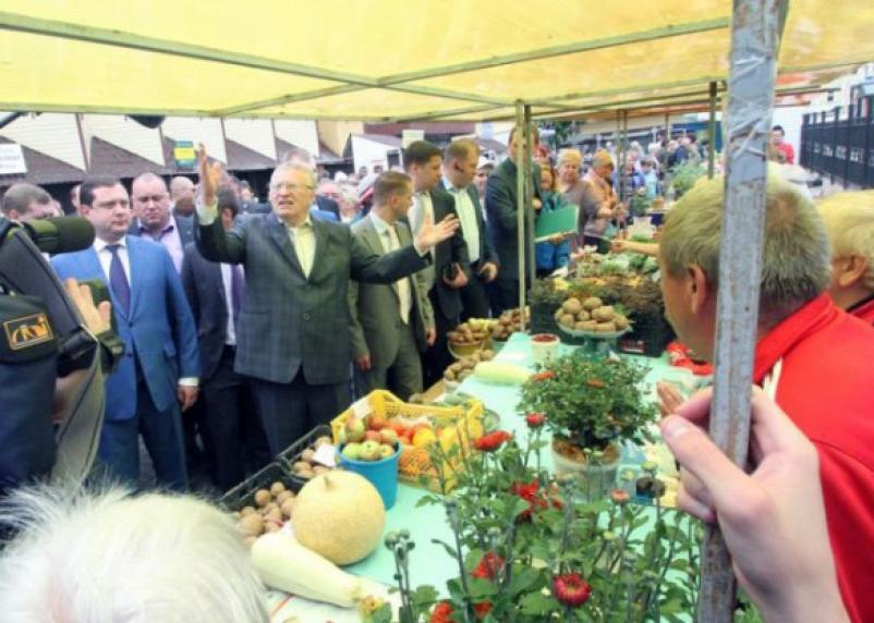 ЛДПР анонсировала смоленскую гастроль Жириновского