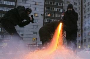 Смолянин получил ожог лица от взрыва петарды
