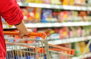 В Ярцевском районе парочка украла продукты из магазина