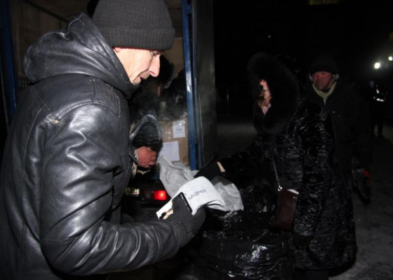 В Смоленске будут бесплатно раздавать зимнюю обувь и носки