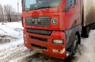 В Смоленской области девушка попала под фуру