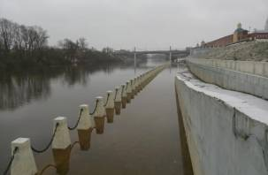 Смоленскую набережную постиг январский паводок