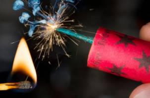 Опасная забава: в Смоленске мужчине оторвало палец взрывом петарды