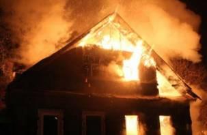 При пожаре смолянин получил ожоги и был доставлен в больницу