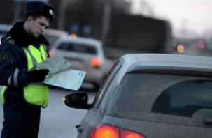 Три пьяных водителя-рецидивиста разъезжали по Смоленщине