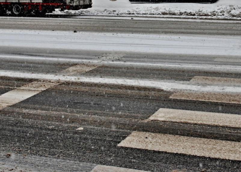 На трассе М-1 в Вяземском районе погибла женщина