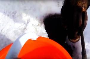 Суровый Смоленск: горожане добывают вонючую воду