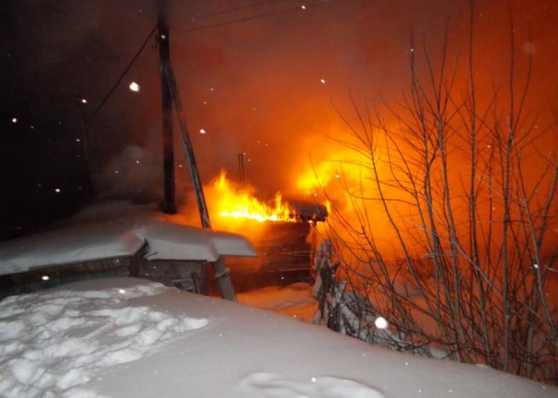 Под Смоленском при пожаре погибли люди