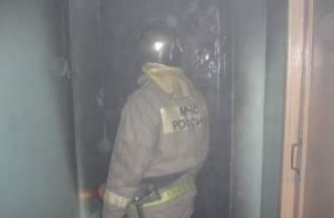 В Смоленске на Рыленкова горели квартиры и автомобиль
