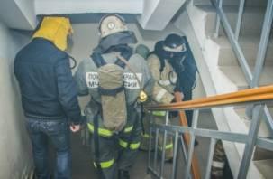 При пожаре в Ярцеве едва не погибли люди