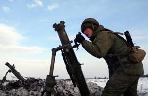 Смоленские артиллеристы отстрелялись под Воронежем