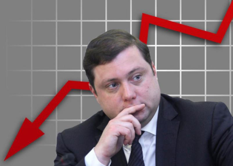 У губернатора Островского снова упало влияние