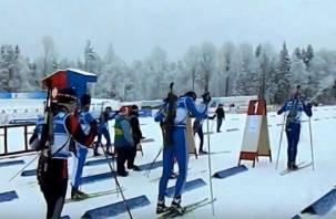 На Смоленщине проходят соревнования по биатлону «Снежный снайпер»