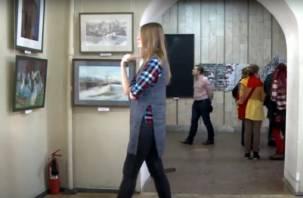 Молодёжная выставка открылась в смоленском Доме художника