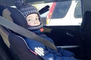 В Смоленске будут останавливать водителей, нарушающих правила перевозки детей