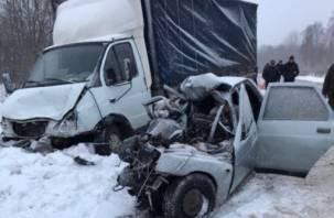 Смоленская полиция разыскивает свидетелей ДТП, в котором погибли пять человек