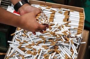 В Смоленской области задержали автомобили, набитые контрафактными сигаретами