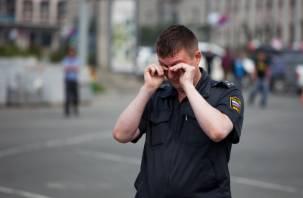 Севастопольца арестовали за насилие над смоленским полицейским