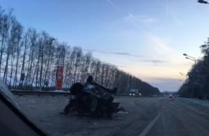 «Размотало об отбойник»: смолянин попал в страшную аварию во Владимире