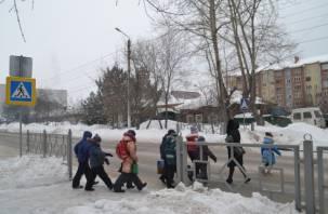 В Духовщинском районе школьников подвергают опасности