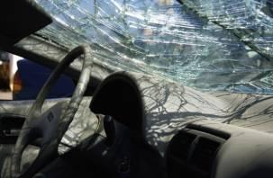 В Гагарине в тройной аварии пострадал водитель иномарки