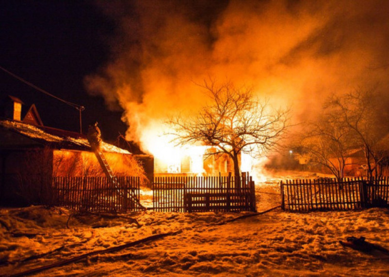 За сутки на Смоленщине заживо сгорели два человека