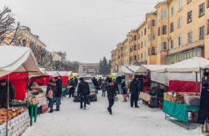 Центр Смоленска превращается в большой дешевый базар