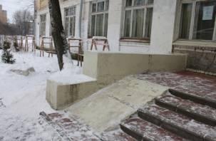 Активисты ОНФ нашли опасные провода в одной из смоленских школ