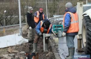 В Смоленске вновь отремонтируют самый дырявый мост