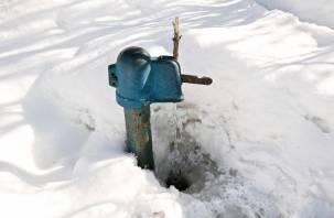 Смоляне в морозы сломали полсотни водоразборных колонок