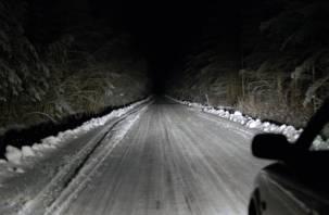 На трассе М-1 в Смоленской области погиб водитель иномарки