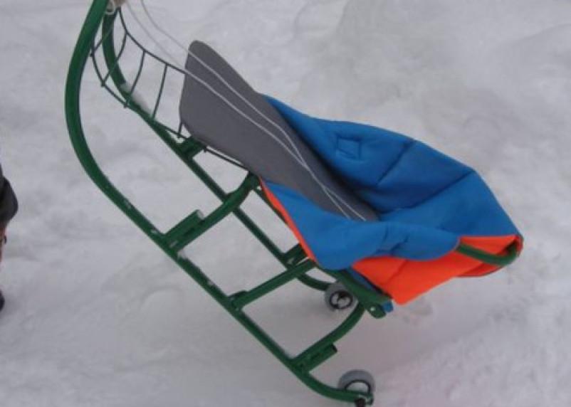 В Вяземском районе мужчина и женщина украли санки у ребенка
