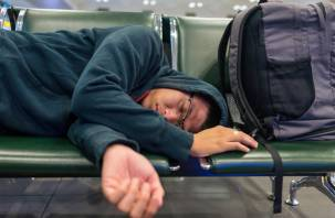 На вяземском вокзале обокрали спящего пассажира