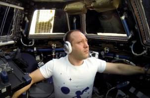 Смоленский космонавт приземлился на Землю, этот момент сняли на видео