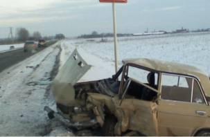 Один погиб, трое пострадали. В Смоленской области произошло смертельное ДТП