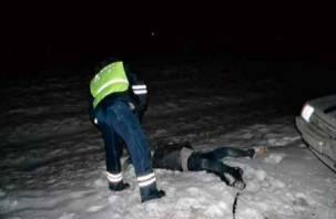 На обочине трассы в Смоленской области обнаружен труп мужчины