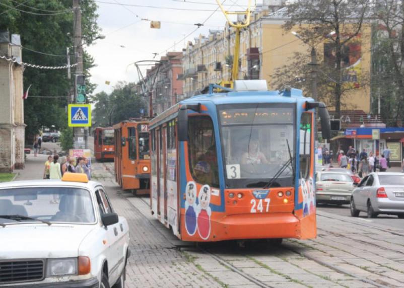 В центре Смоленска задумали построить трамвайное кольцо