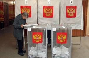 В Смоленской области на выборах проголосовало чуть более 61% избирателей