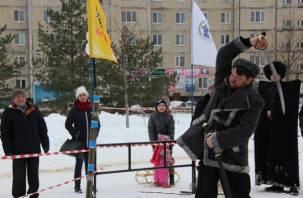 Казаки рубились шашкой в городе смоленских атомщиков