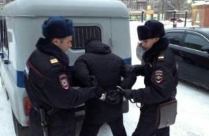 В Смоленске на Киевском шоссе поймали парня с полкило наркотиков