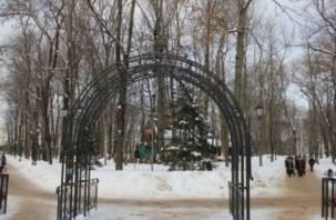 В смоленском парке Блонье прошла игра-квест для незрячих горожан