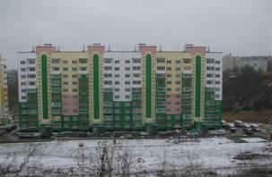 В Смоленской области стали меньше строить жилья